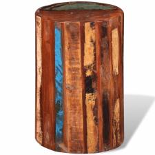 tömör újrahasznosított fa ülőke bútor