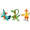 Tomy Tomy: Pokémon 3 darabos figura szett - Grovyle, Combusken, Marshtomp