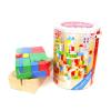 Tooky Toy Fa 100 darabos építőkockaszett
