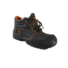 TOP DIJON O1 SRC védőbakancs, bőr felsőrész, narancs bélés, fekete, 41 munkavédelmi cipő