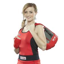 Top Ten Box felső, női, TOP TEN, piros, S méret női edző felszerelés