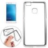 TOPTEL Clear case Huawei P9 hátlap, tok, átlátszó-ezüst