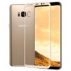 TOPTEL Log-on edzett üvegfólia 9H keménységű hajlított 3D, Samsung Galaxy Note 8, arany