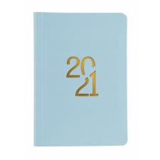 """TOPTIMER Naptár, tervező, B6, napi, TOPTIMER """"Pastel"""", kék naptár, kalendárium"""