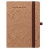 TOPTIMER Notebook Zen, B6 vonalas jegyzetfüzet, Barna