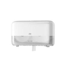 Tork Toalettpapír adagoló, belsőmag nélküli, mid-size, T7 rendszer, TORK, fehér fürdőkellék
