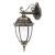 Toronto kültéri oldalfali lámpa (E27) antik arany
