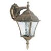 Toscana kültéri oldalfali lámpa (E27) antik arany