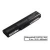Toshiba Dynabook SS M40 laptop akkumulátor, új, gyárival megegyező minőségű helyettesítő, 6 cellás (4400mAh)