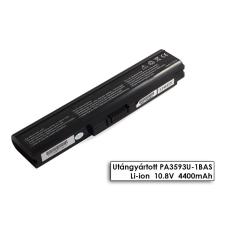 Toshiba Dynabook SS M40 laptop akkumulátor, új, gyárival megegyező minőségű helyettesítő, 6 cellás (4400mAh) toshiba notebook akkumulátor