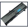 Toshiba DynaBook VX/5 6600 mAh 9 cella fekete notebook/laptop akku/akkumulátor utángyártott