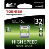 Toshiba High Speed Professional 32GB SDHC UHS-I MTS32GH
