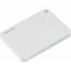 Toshiba Külső HDD 2.5' - 2TB Canvio Connect II Fehér (USB3.0, ~5Gbps, NTFS/HFS+, fényes, 10 GB Cloud Storage)