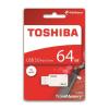 "Toshiba Pendrive, 64GB, USB 3.0, TOSHIBA ""U303"", fehér"