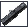 Toshiba Satellite L655-128 4400 mAh 6 cella fekete notebook/laptop akku/akkumulátor utángyártott