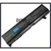 Toshiba Satellite M50 Series 4400 mAh 6 cella fekete notebook/laptop akku/akkumulátor utángyártott