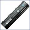 Toshiba Satellite P800D 6600 mAh 9 cella fekete notebook/laptop akku/akkumulátor utángyártott