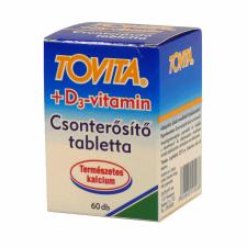 Tovita Tovita csonterősítő tabletta + D3 vitamin táplálékkiegészítő