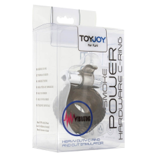 ToyJoy POWER HARDWARE C-RING SMOKE péniszgyűrű
