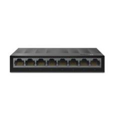 TP-Link Switch 8x1000Mbps, Műanyagházas Asztali, LS1008G hub és switch