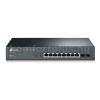 TP-Link T1500G-10MPS 8 portos Gigabites PoE Smart switch