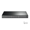 TP-Link T1600G-52PS 48port GbE LAN PoE+ 4 combo port GbE RJ45/SFP menedzselhető Switch