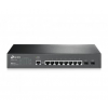 TP-Link T2500G-10TS JetStream 8-Port Gigabit L2 Managed Switch with 2 SFP Slots (T2500G-10TS)