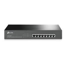 TP-Link TL-SG1008MP 8-Port Gigabit Desktop/Rackmount Switch with 8-Port PoE+ hub és switch