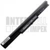 TPN Q115 2200 mAh 4 cella fekete notebook/laptop akku/akkumulátor utángyártott