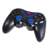 TRACER BLUE FOX PS3 Bluetooth gamepad - Fekete-Kék (TRAJOY43818)