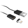 TRACER Mágneses kábel TRACER USB 2.0 Iphone AM - lightning 1;0m fekete