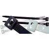 TRACON TRAC.191 Kábelkötegelő 200x4,8mm fekete, PA6,6