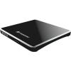Transcend TS8XDVDS-K külső slim DVD író USB2.0 fekete BOX