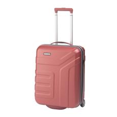 TRAVELITE VECTOR S korall kétkerekű könnyű kis kabin bőrönd