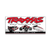 Traxxas Racing banner 0.9x2.1m