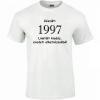 Tréfás póló 20 éves, Készült 1997...   (M)
