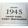 Tréfás póló 70 éves, Készült 1945...  (S)