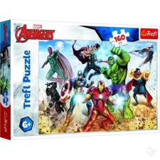 Trefl : Bosszúállók Irány a világ megmentése 160 darabos puzzle puzzle, kirakós