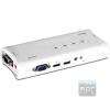 Trendnet TK-409K 2 portos USB2.0 KVM switch audio porttal