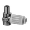 Triax KOSWI 3 IEC könyök dugasz (fém)