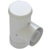 Tricox PAET05 ellenőrző T-idom PPs/Alu 110/160mm