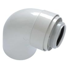 Tricox PAKÖ501C könyök idom 90° PPs/Alu 60/100mm hűtés, fűtés szerelvény