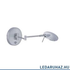 Trio KAZAN fali lámpa króm, 3000K melegfehér, beépített LED, 750 lm, TRIO-274770107 világítás