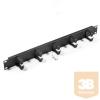 "TRITON RAB-VP-X01-A2 19""-os fém patch rendező panel 37 mm-es gyűrűkkel"