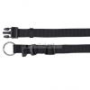 TRIXIE Classic textil nyakörv XS-S (1/22-35m) fekete