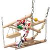 Trixie Függő Híd Fából És Kötél Egereknek Hörcsögöknek Két Szintes 27x16x10cm