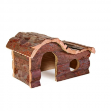 Trixie Ház Fából Hullámtetős Hörcsögnek Hanna 26×16×15cm játék rágcsálóknak