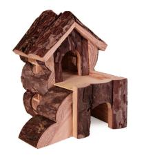 Trixie Ház Fából Kétszintes Feljáróval Rágcsálóknak Bjork 15×15×16 játék rágcsálóknak