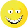 Trixie Játék latex mosolygó arcok lapos 10cm