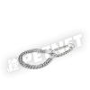 Trixie Kétsoros lánc nyakörv 50cm/2,5mm